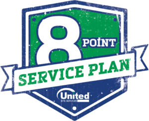 8 point service plan shield