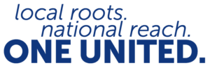 Local roots. National reach. One United.
