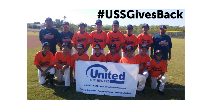 USS Gives Back team