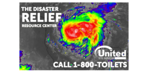 Call 1-800-Toilets for Hurricane Harvey Assistance