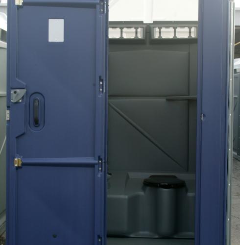 Large Porta Potty Interior View