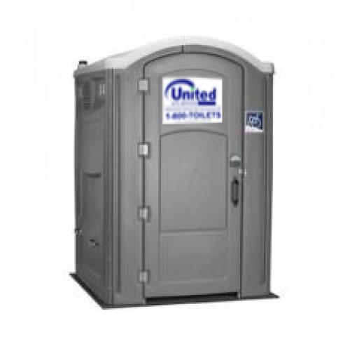 Handicap Portable Toilet Exterior View