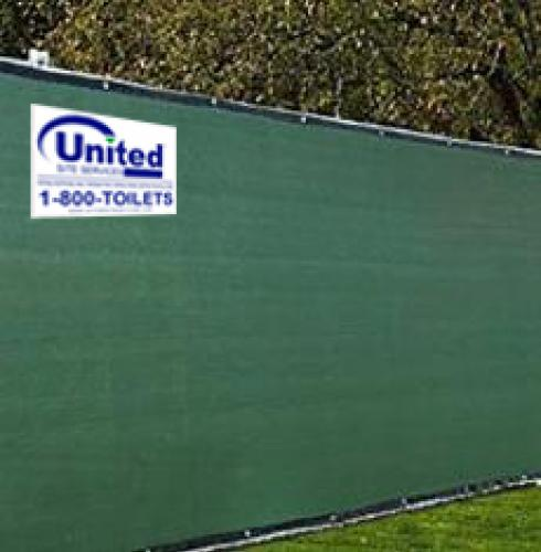 Temporary Privacy Fence Panels