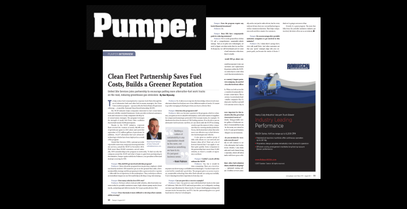 Pumper article
