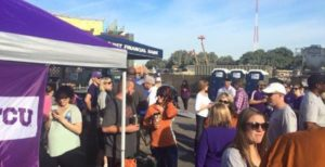 Rent Restrooms for Your Football Tailgating Party: You'll Be the Envy of Your Neighbors