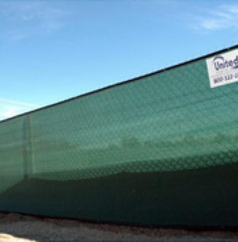 Temporary Privacy Fence