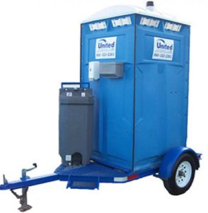 Trailer Mounted Restroom