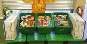 United Site Services Collects 11,535 Lbs. of Food and Raises $6,941 to Help Fight Hunger