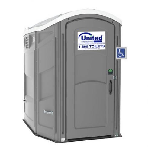 ADA Compliant Porta Potty Exterior View
