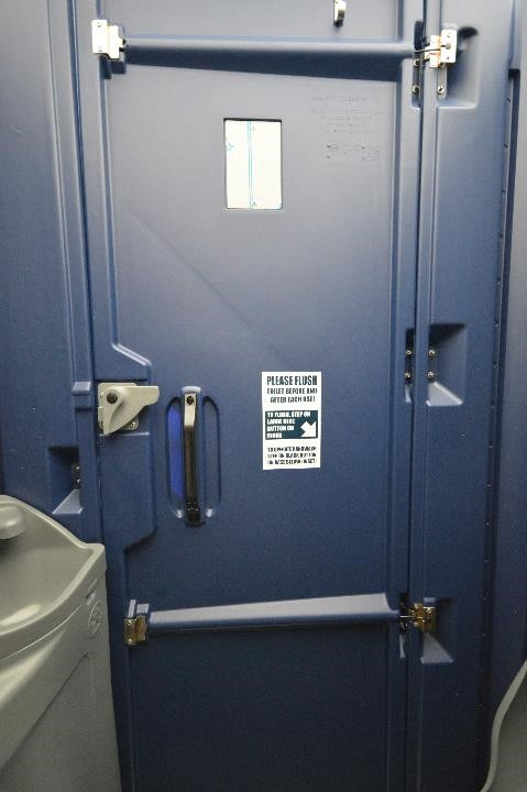 Flushable Porta Potty Interior View