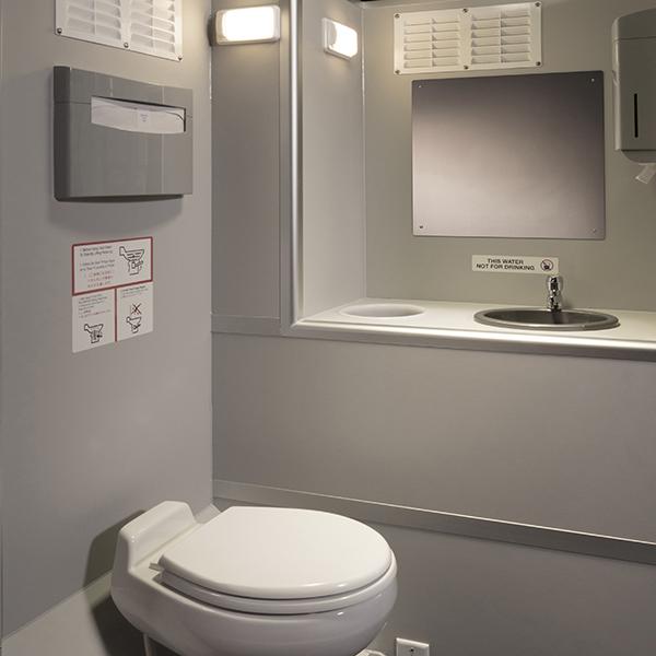 VIP Solar Toilet Interior View