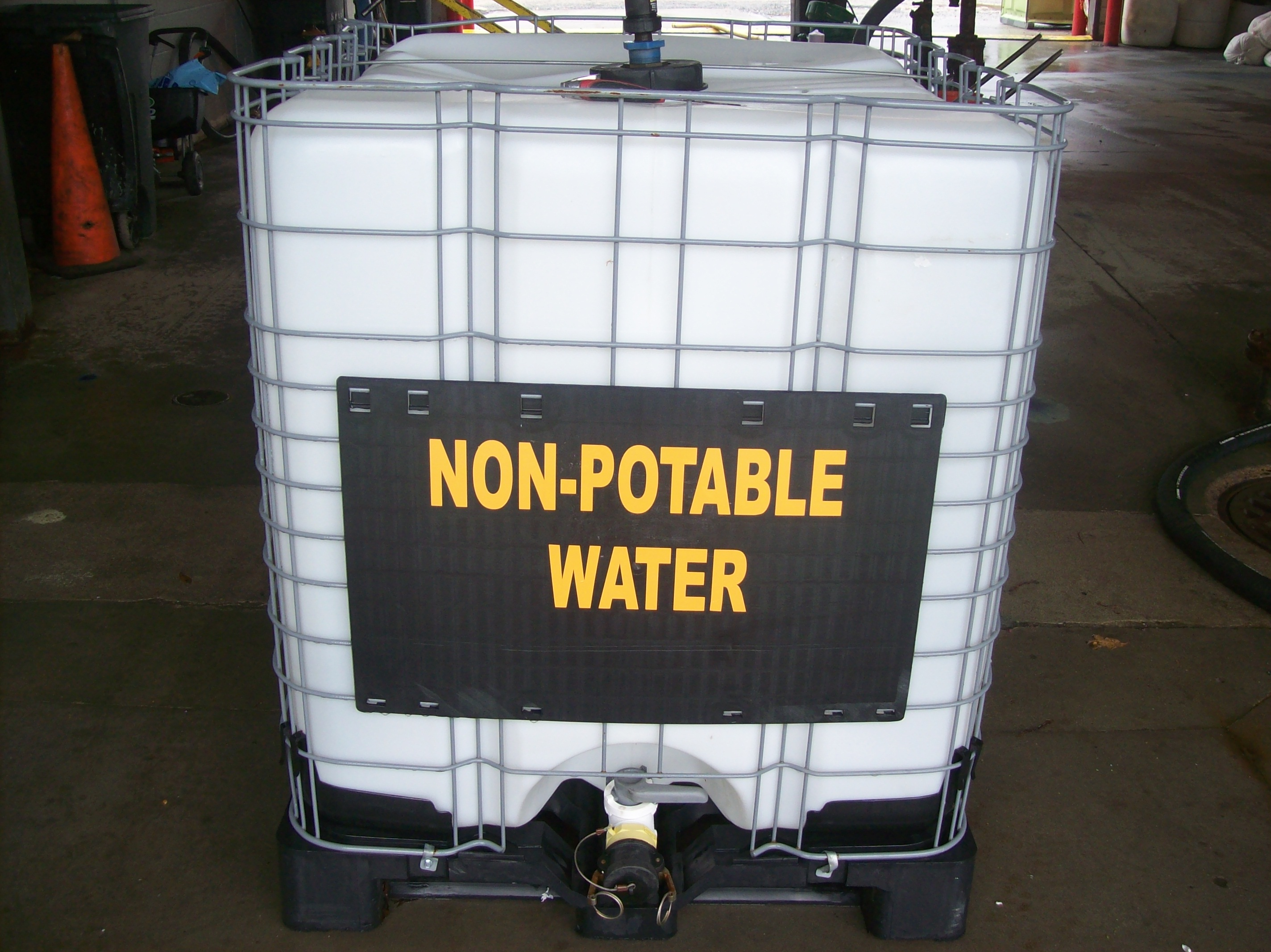 non potable water holding tanks