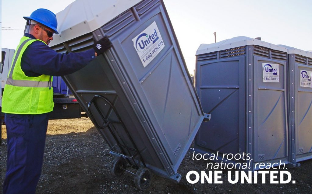 Disaster Response Portable Toilets - United Site Services