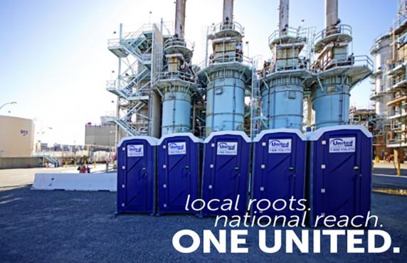 industrial plant turnaround portable toilet services - united site services
