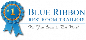Blue Ribbon Restroom Trailers Logo
